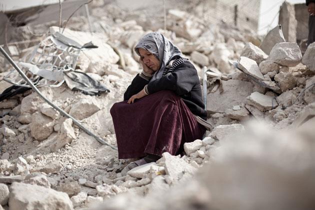 اثر العنف في الشرق الاوسط على نمو الاطفال ووضع المرأة