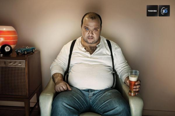 التلفاز والحاسوب والسيارة تزيد مخاطر السكري وتراكم الدهون