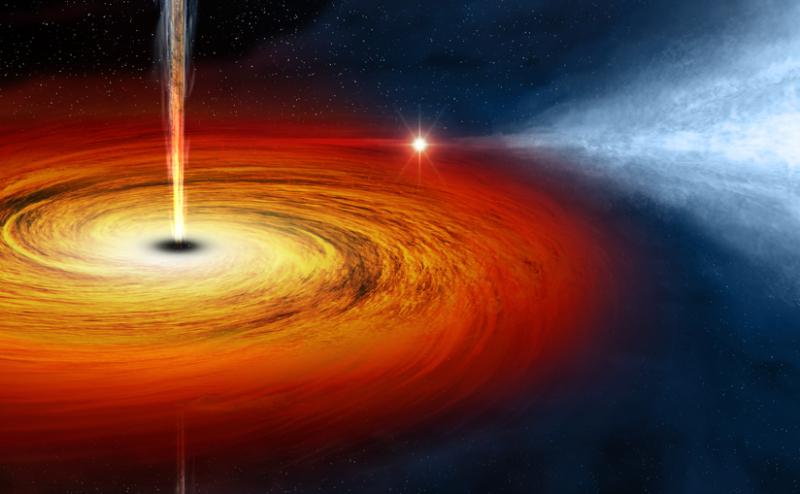 ماذا سيحدث إذا سافر الإنسان داخل ثقب أسود