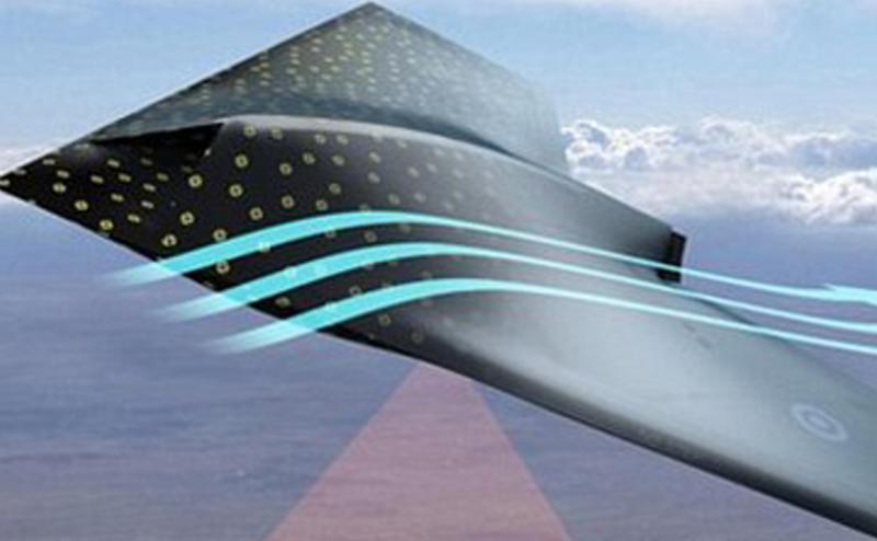 تصميم طائرة من مادة شبيهة بجلد الانسان