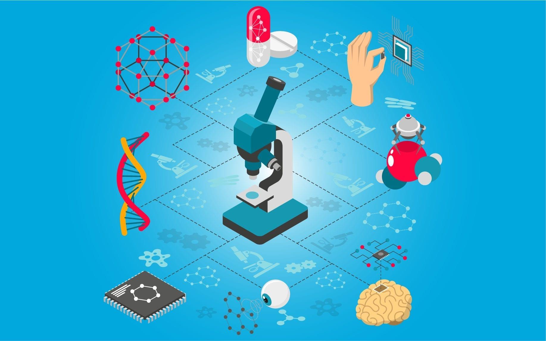 تكلنلوجيا وتقنية النانو - مجلة نقطة العلمية