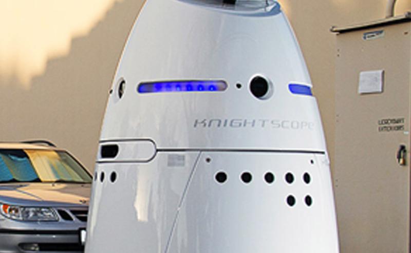 روبوتات الحراسة الأمنية