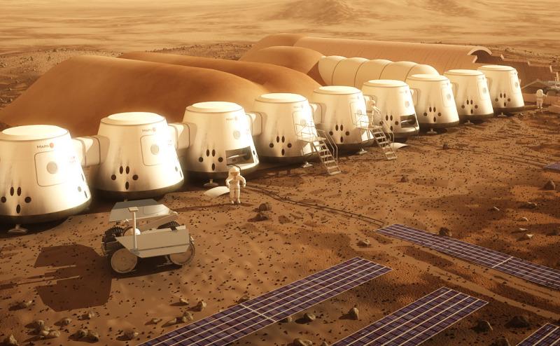 مستقبل الرحلات البشرية إلى المريخ
