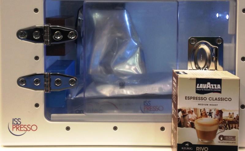 ماكينة لعمل القهوة في الفضاء