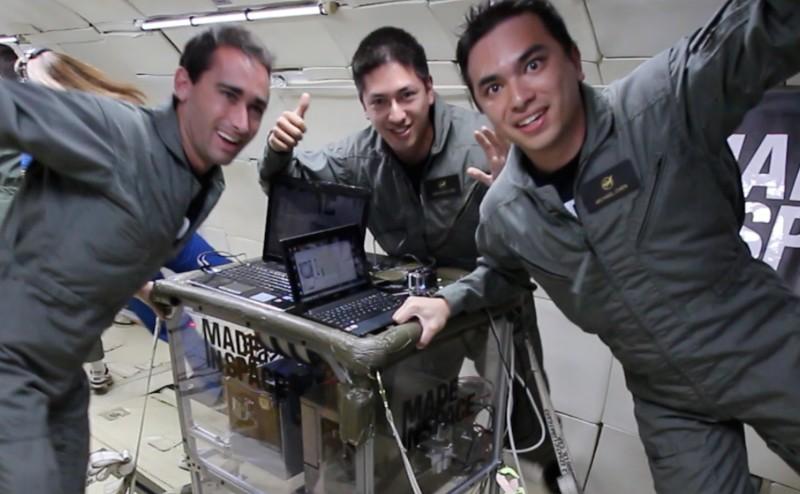 طابعات ثلاثية الأبعاد في الفضاء