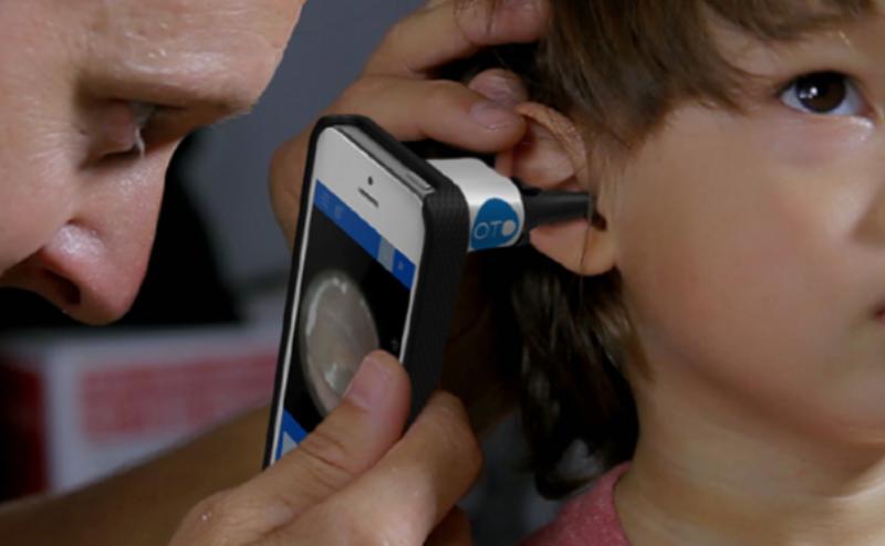 تشخيص التهاب الأذن بالهواتف الذكية