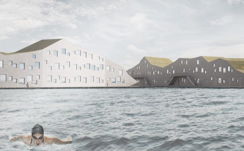 تصميم أول مدينة مائية مطبوعة بطابعة ثلاثية الأبعاد