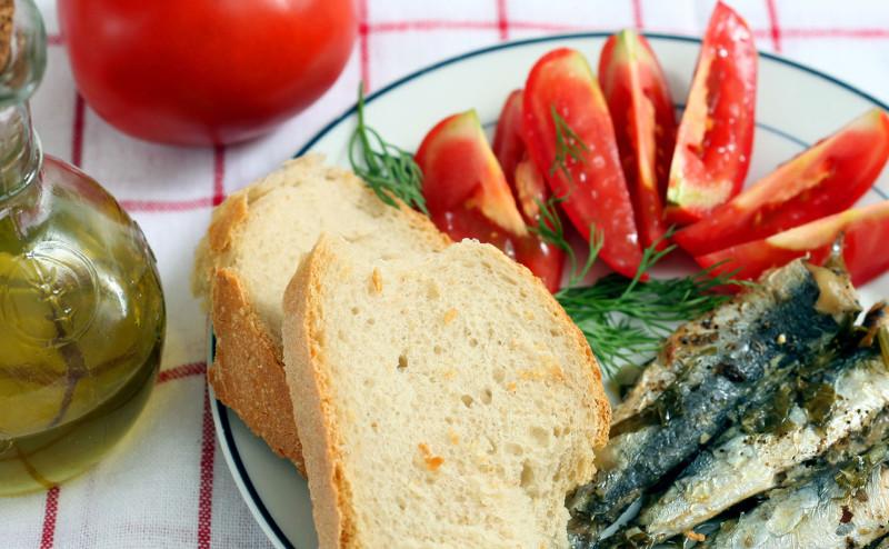 نظام البحر المتوسط الغذائي يبطئ الشيخوخة