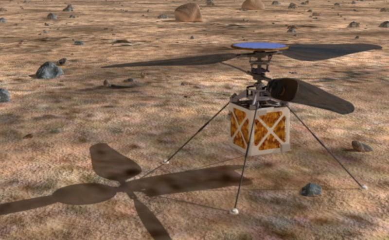 ناسا تطور مروحية لإرسالها إلى المريخ