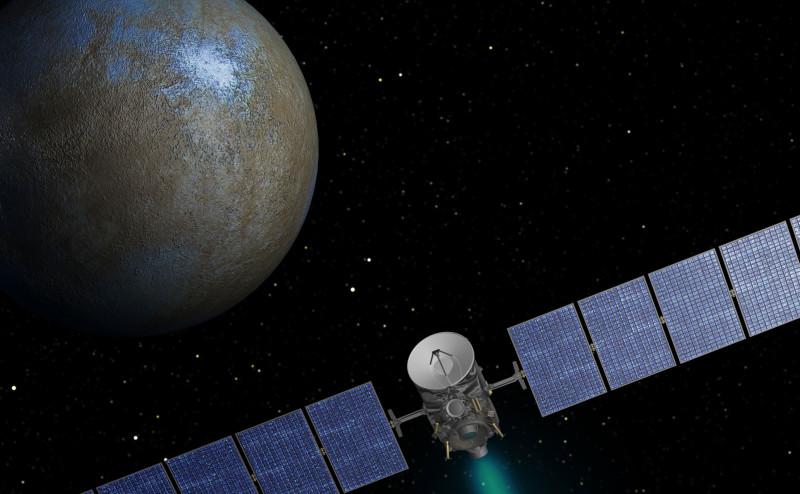 مسبار ناسا (Dawn) يقترب من الكوكب القزم سيريس