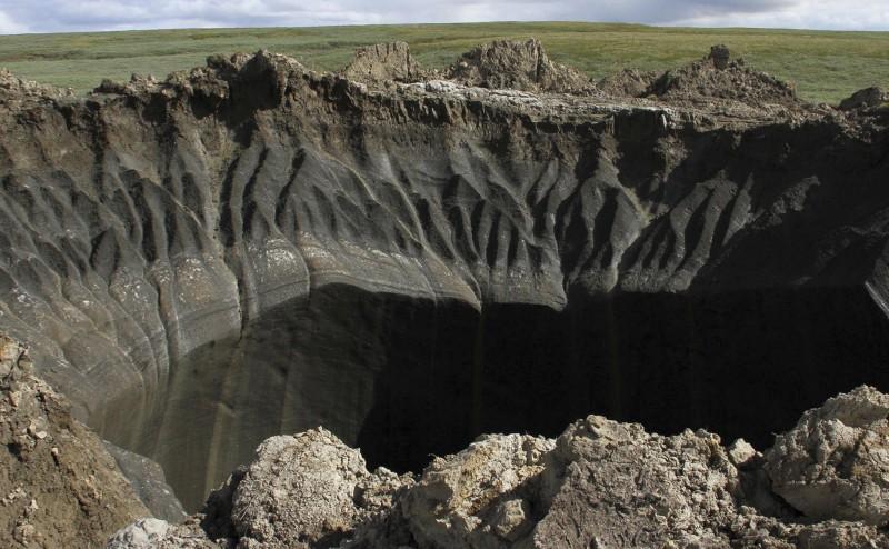 نظرية جديدة حول تشكل حفر سيبيريا الضخمة