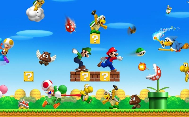 لماذا يتحرك سوبر ماريو من اليسار إلى اليمين في ألعاب الفيديو