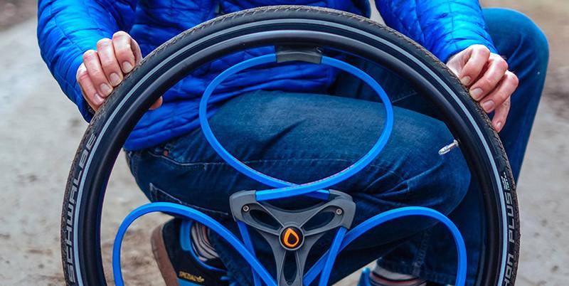 مصمم  يبتكر عجلة ذكية تمتص الصدمات