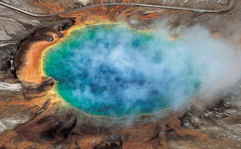 اكتشاف خزان صهارة ضخم تحت أكثر النظم البركانية نشاطاً