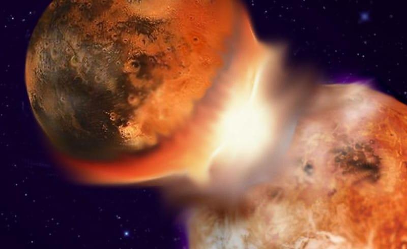 نظرية الاصطدام العملاق هي الأقرب لتفسير تشكّل القمر