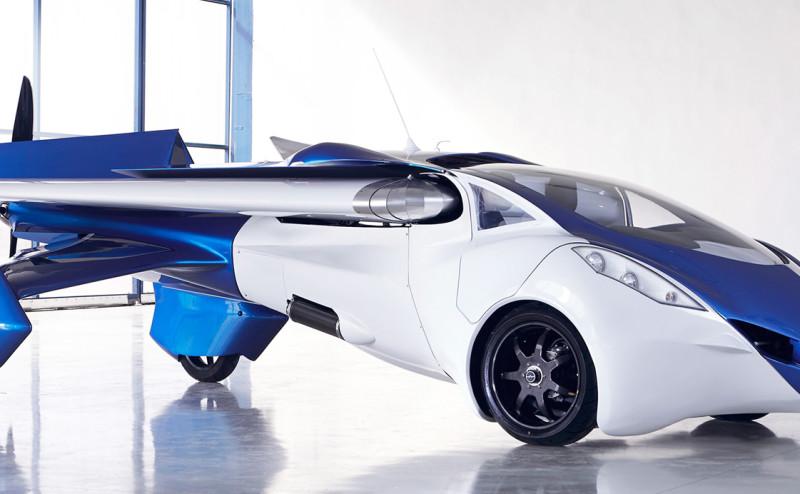 (AeroMobil) الطائرة التي تحول نفسها إلى سيارة
