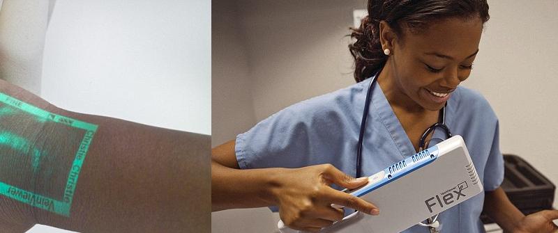 أداة تسهل على الأطباء إيجاد الوريد للحُقن