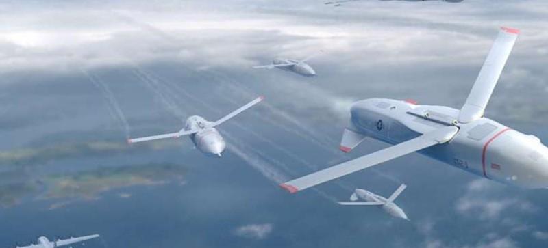 Gremlins: طائرات دون طيار تطلق نفسها في منتصف الجو
