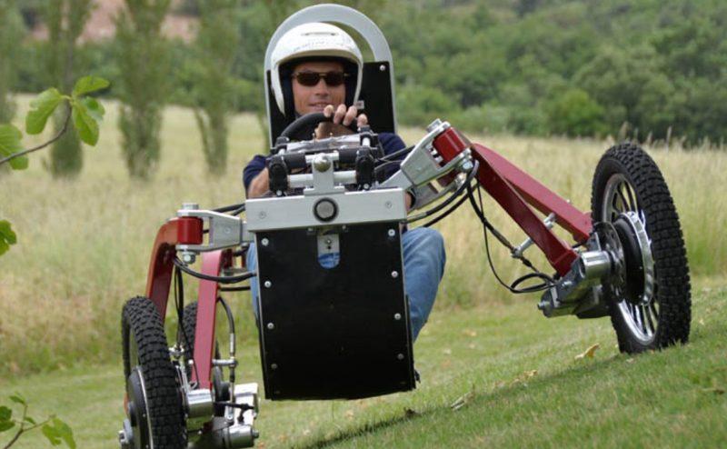 Swincar: سيارة مدهشة لها قدرات العنكبوت