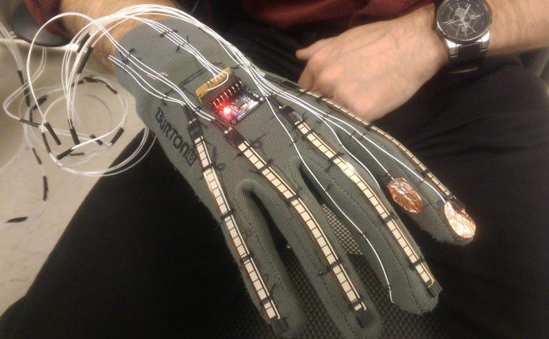 قفازات ذكية للصم والبكم تترجم  لغة الإشارات إلى كلام