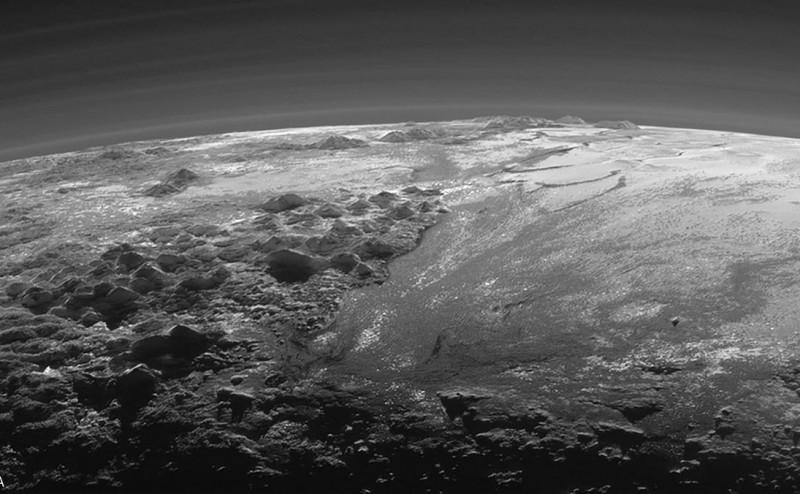 اكتشاف وجود براكين جليدية على سطح بلوتو