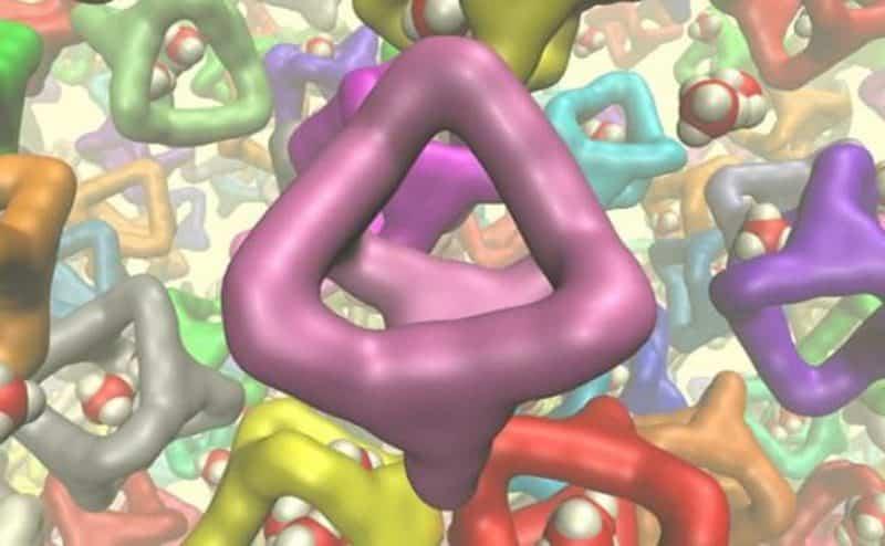 العلماء يخترعون أول سائل ملئ بالثقوب في العالم
