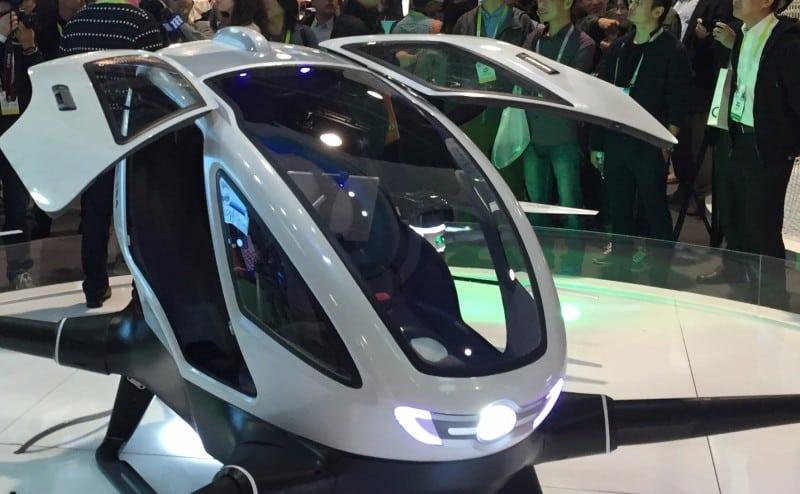 أول طائرة ركاب بدون طيار يتم الإعلان عنها في معرض (CES)