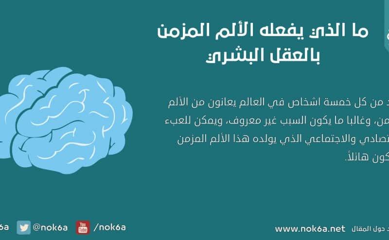 ما الذي يفعله الألم المزمن بالعقل البشري؟