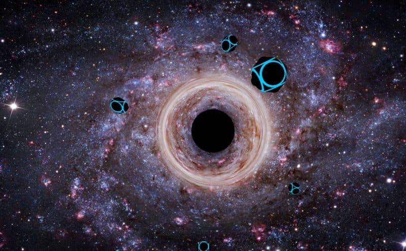 العلماء يحددون الجزيئات التي تشكّل المادة المظلمة