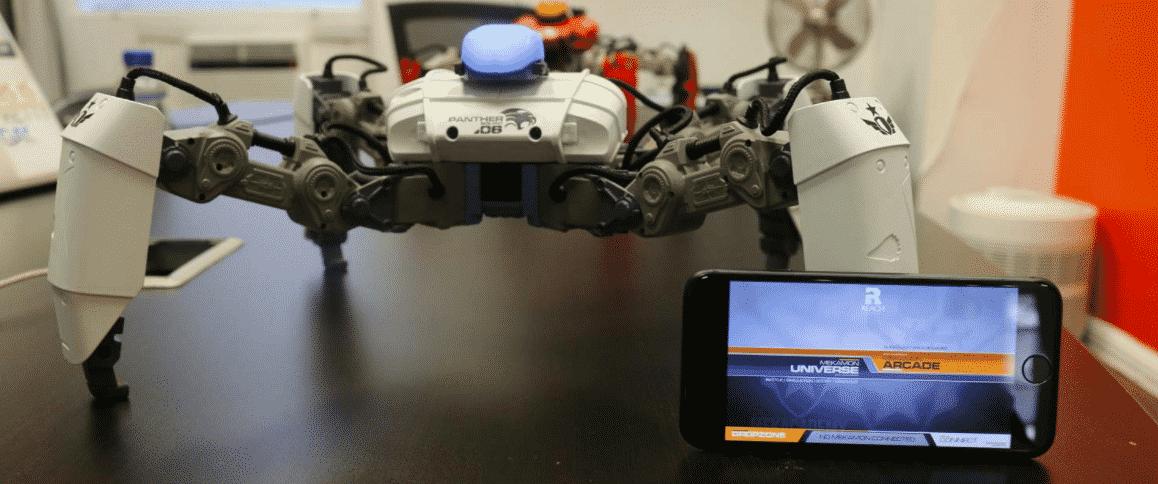 روبوت على شكل عنكبوت
