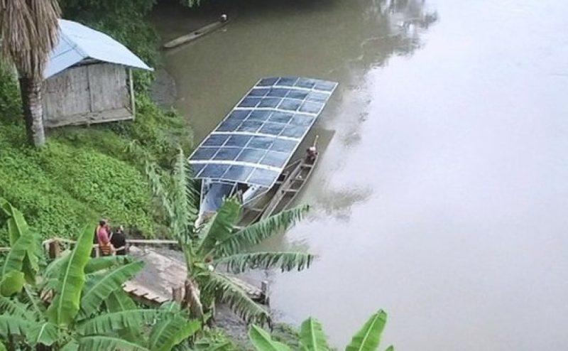 رحلةٌ عبر الأمازون على متن قوارب الطاقة الشمسية!