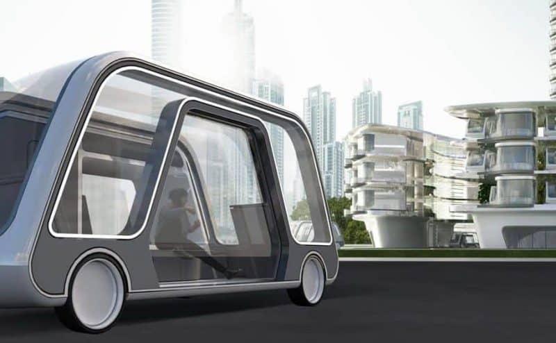 غرفة فندقية متنقلة على عجلات إبتكار جديد في عالم التقنية!