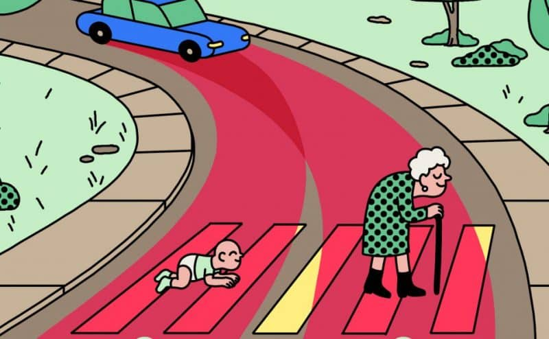 ما هي الأخلاقيات التي ينبغي أن تُبرمَج عليها السيارات الذاتية القيادة؟