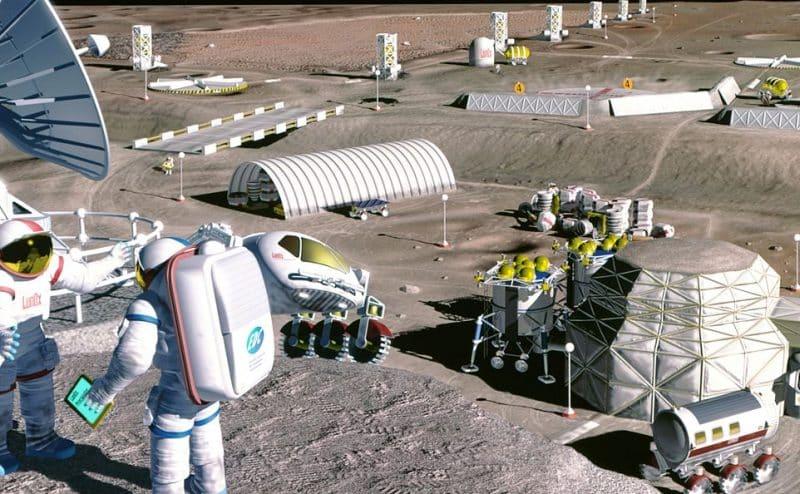 رحلة البشر لاستعمار الفضاء