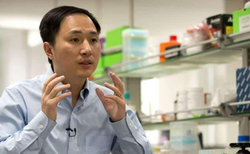 """العالم الصيني """"Jiankui"""" المسئول عن ولادةالتوائم المعدلة جينياً قد يواجه عقوبة الإعدام"""