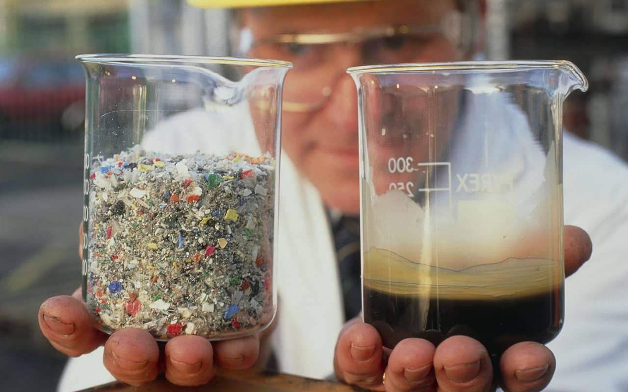 تحويل البلاستيك إلى الوقود