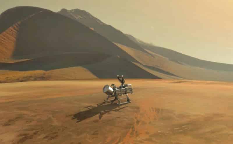 يعسوب ناسا، يستكشف الحياة علي قمر تيتان