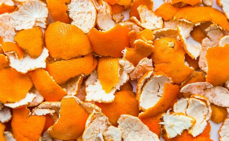 البلاستيك القابل للتحلل من قشور البرتقال