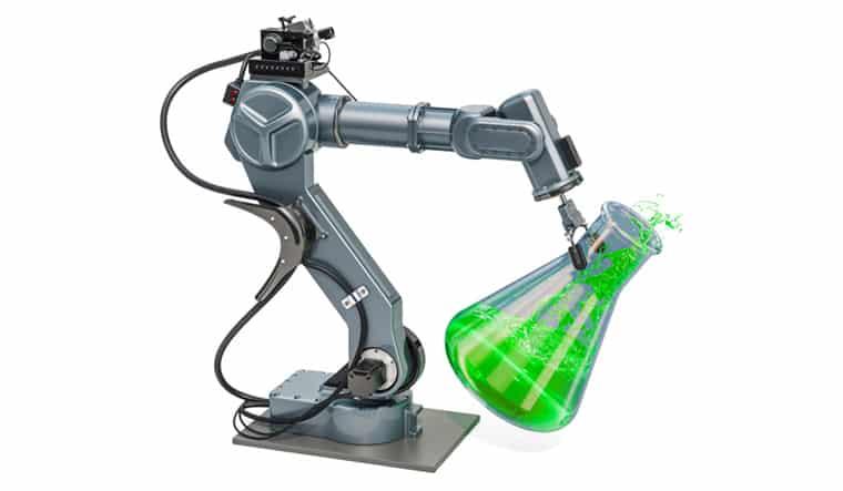 ذراع روبوتية يمكنها التعرف على المواد الكيميائية التي تلامسها