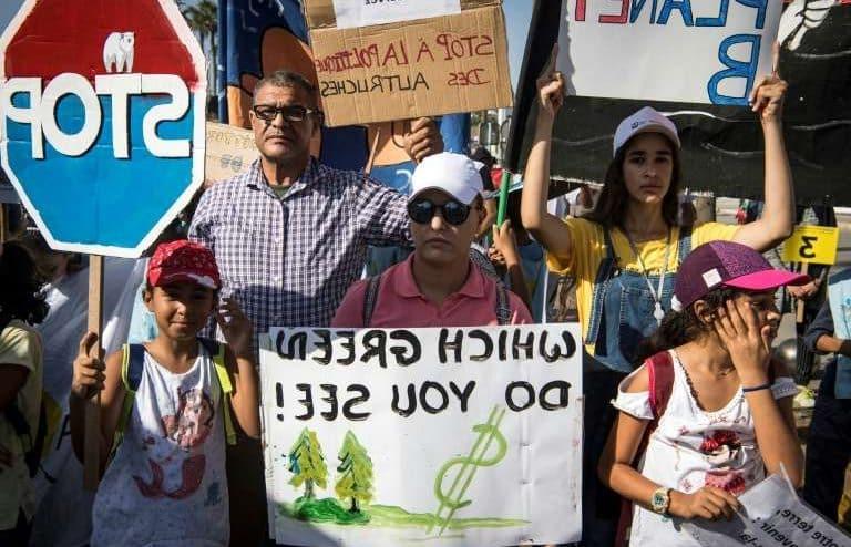 لماذا يتظاهر المغاربة ضد سياسات المناخ؟