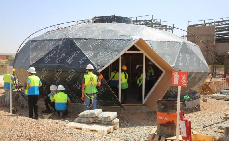 """""""Solar Decathlon Africa"""": أكثر من 400 طالب في المسابقة لبناء منزل ذكي ومستدام"""