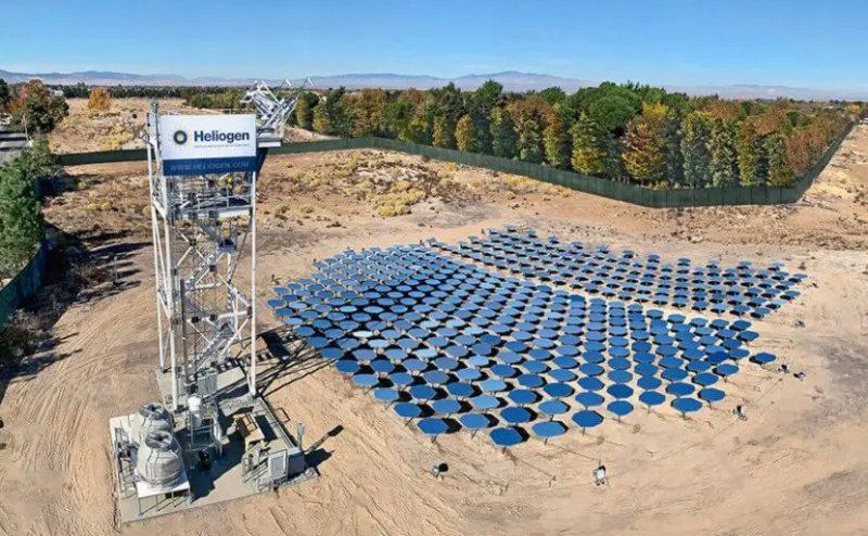 """شركة """"Heliogen"""" الناشئة تكتشف طريقة لتحسين كفاءة الخلايا الشمسية"""