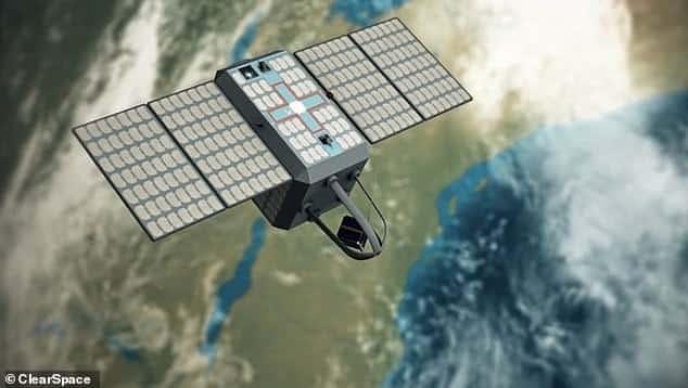 """الكشف عن """"شاحنة السحب"""" الفضائية المصممة لتنظيف مدار الأرض من حطام الأقمار الصناعية"""