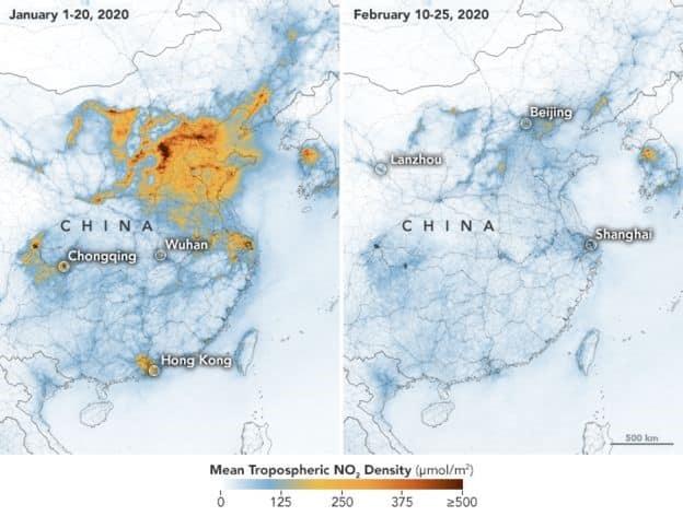 التغير المناخي وكورونا